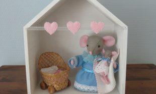Muis en baby muis