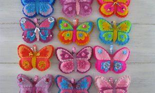 Sleutelhangers vlinder