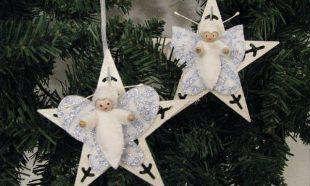 Kerst vlindertjes