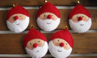 Bal kerstmannetjes