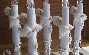 Lieve kaarsen dragertjes