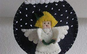 Kerstbal engeltje