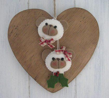 Kerstboom hanger beertje