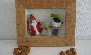 Sinterklaas in schilderijtje