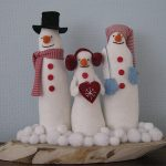 Drie sneeuwpoppen