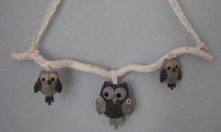 Brocante uilen hanger