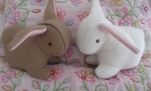 Twee konijntjes