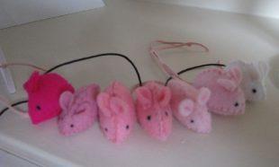 Lieve roze muisjes